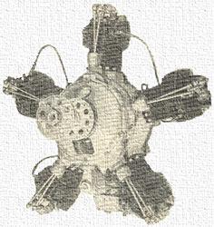 звездообразный двигатель